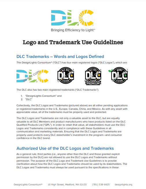 DLC Logo Use Guidelines